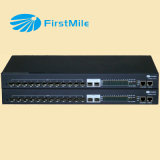 Gestionado Multi-Port Ge / 10g Ethernet multiplexor Media Converter