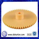 Präzisions-kundenspezifischer Plastiknylonübertragungs-Gang (DKL-G1208)