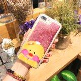 Célula líquida de la historieta de la arena/cubierta del teléfono móvil para el iPhone 6s más