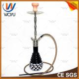Cachimbo de água de fumo da tubulação de Shisha da tubulação da mão do ofício de vidro
