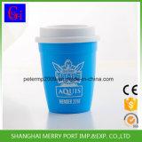 Umweltfreundlicher Fabrik-Preis-Großverkauf-Plastikcup mit Kappe und Stroh