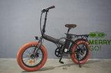 2017最新のおよびアップグレードされた48V 500Wの電気脂肪質のタイヤの折るバイク
