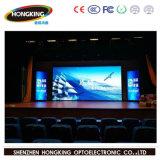 Full HD de cor P4 Display LED para publicidade no interior da parede de vídeo
