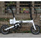 12 pouces Easy Fold Bicyclette électrique / alliage d'aluminium Cadre / batterie au lithium Bicyclette / One Second Folding Bicycle / Folding / Easy Carry Bicycle / High Speed ​​City Bike