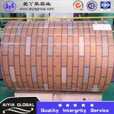 Bobina de acero cubierta color para la construcción