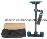 Estabilizador preto da câmera da fibra do carbono de S60t para o estabilizador do vídeo do preço de fábrica DV de DSLR