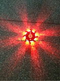 5 Упаковка перезаряжаемых случае загорается сигнальная лампа защитной световой Стробоскоп