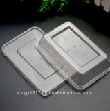 PP Clear 400 Ml Plastic Lunch Box