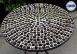 Meubles réglés de jardin de Bistros de mosaïque de fer travaillé