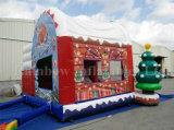 Castillo animoso de salto inflable de la Navidad caliente de la venta 2016 para los cabritos
