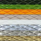 Le cuir de PVC 2017 gravé en relief le plus neuf pour l'empaquetage de sac (W123)