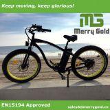 En15194 Venta caliente aprobado 48V 500W/750W Fat Cruiser Bicicleta eléctrica