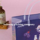 中国製クリスマスのギフトのパッケージ(ギフト袋)のための供給によって印刷されるPVCプラスチックギフト袋