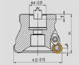 Режущие инструменты CNC, круглый стан стороны шпонки R200
