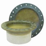 Pipe de fibres de verre et ajustage de précision faits sur commande - bride