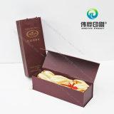 Портняжничанная коробка питья подарка вина/бумаги печатание упаковывая (с причудливый бумагой)