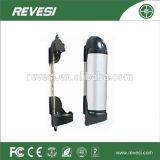 Batteria elettrica della bicicletta di stile della bottiglia di acqua dello ione del litio del fornitore 36V12ah della Cina per il pacchetto della batteria della caldaia con la bici elettrica