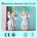 I piccoli Figurines miniatura di angelo del bambino di generi della resina 4 si dirigono le decorazioni