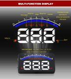 Visualizzazione alta OBD d'avvertimento d'accelerazione II Inteface Hud della testa del proiettore del sistema di allarme dell'automobile M6 OBD2 Hud