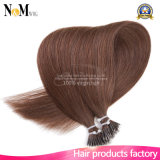 Nano Menschenhaar-Extensions-Kippen-Keratin-Haar-Extension des Ring-Haar-100% reine geklebte natürliche
