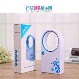 Aucune feuille portable Air-Condition Ventilateur de table, mini USB Bladeless Fan