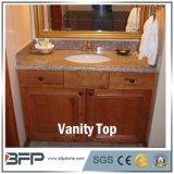 Buona parte superiore cinese moderna di vanità della stanza da bagno del granito di prezzi di Commerical