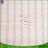 Tela de congregación impermeable tejida materia textil casera de la cortina del apagón del poliester