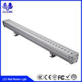 IP 33 72 luz do estágio do diodo emissor de luz da luz AC100-240V da arruela da parede do diodo emissor de luz do PCS