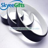Braccialetto luminoso in bianco poco costoso del silicone
