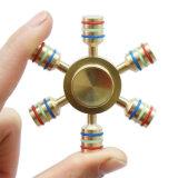 Spinner Zes van de Hand van de Spinner van het Koper van de Spinner van het metaal de Spinner van het Metaal