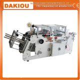 Rectángulo de papel que forma la máquina