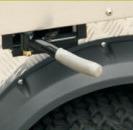 Carrello di impianto elettrico con il mini camion del carico (DEL2023DUB, 2-Seater)