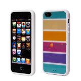 Diseño colorido cubierta de la caja de teléfono de TPU para iPhone 5 (iP5-TPU0013)