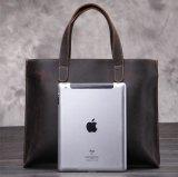広州の工場標準的なレトロの革ブラウンの方法人のハンドバッグ