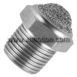Silenciador de malha pneumática de aço inoxidável