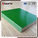 La película plástica del buen verde del precio de la alta calidad hizo frente a la madera contrachapada hecha frente película de los PP de la madera contrachapada para la construcción