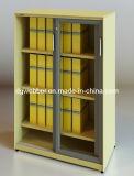 Шкаф раздвижной двери с стеклянной дверью (SV-SLG1357)