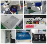 Fabricant d'usine Mini machine à fibre optique à fibre optique, Machine de marquage laser Fibre pour bambou, Acier inoxydable