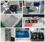 Proveedor de la fábrica Mini máquina portable del laser de la fibra, máquina de la marca del laser Fibra para el bambú, acero inoxidable