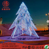 Weihnachtsbaum-Licht der LED-großes Girlande-3D für Piazza