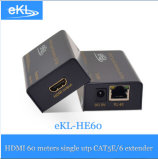 Extensor HDMI 60medição por Cat 5e/Cabo 6