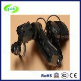 5X、10X、15Xの20X LEDのヘルメットの拡大鏡ランプ(EGS9895E)