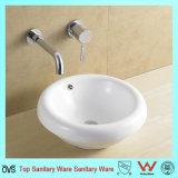 Salle de bains de haute qualité de l'artisanat céramique artistique du bassin du dissipateur