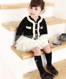 Sprung-Form-Wolljacke-Jacken-Rock-Klage, Mädchen-Partei-Kleid