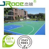 Multi-color de la superficie antideslizante Pista de tenis Revestimiento de Pisos Deporte