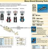 Het Beklemtonen van de mono-Bundel van Enerpac Hydraulische Hulpmiddelen (PTJ5S en 5DA1)