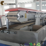 WPC zusammengesetztes Profil, das Maschine, hölzernen zusammengesetzten Profil-Plastikproduktionszweig herstellt