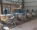 トマトソースか砂糖またはキャンデー(ACE-JCG-063002)のための産業ステンレス鋼の蒸気調理の鍋