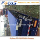 20FT 40FT Container, Semi Aanhangwagen van de Vrachtwagen van de Lading Flatbed