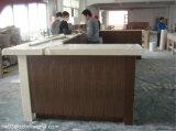 Countertop van Corian van het Kabinet van Cholete de Houten Teller van de Staaf van het Restaurant